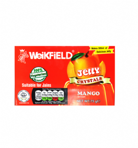 Vegetarian Jelly Crystals (Mango) By Weikfield | Buy Online at the Asian Cookshop